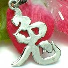 925 STERLING SILVER CHINESE SYMBOL CHARM / PENDANT - RABBIT