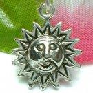 925 STERLING SILVER SUN FACE CHARM / PENDANT