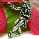 925 STERLING SILVER HAWAIIAN HULA DANCER CHARM / PENDANT