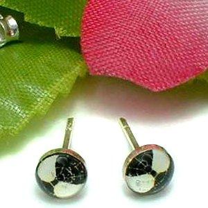925 STERLING SILVER SPIDERMAN BLACK STUD EARRINGS