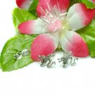 925 STERLING SILVER DRAGON STUD EARRINGS #400