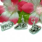 925 STERLING SILVER JET SKI AND RIDER CHARM PENDANT #6
