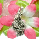 STERLING SILVER CHINESE DRAGON (MOVES) CHARM PENDANT #1