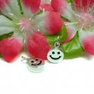 925 STERLING SILVER SMILEY FACE CHARM / PENDANT #3