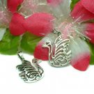 925 STERLING SILVER SWAN BIRD CHARM / PENDANT #3