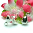 925 STERLING SILVER BIRD IN EGG (OPENS) CHARM / PENDANT