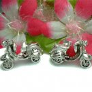 925 STERLING SILVER VESPA SCOOTER (MOVES) CHARM PENDANT