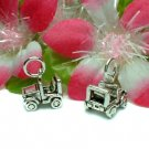 925 STERLING SILVER MINI JEEP (MOVES) CHARM / PENDANT