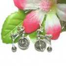 STERLING SILVER PENNY FARTHING BICYCLE CHARM / PENDANT