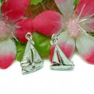 925 STERLING SILVER SAILBOAT CHARM / PENDANT