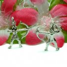 925 STERLING SILVER ARCHERY / ARCHER WITH BOW CHARM