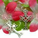 925 STERLING SILVER CELTIC CROSS CHARM / PENDANT #58
