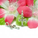925 STERLING SILVER CROSS CHARM / PENDANT #43