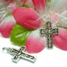925 STERLING SILVER CROSS CHARM / PENDANT #34