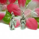 STERLING SILVER ANGEL SINGING WITH BOOK CHARM / PENDANT