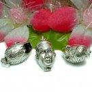 925 STERLING SILVER MAN HEAD CHARM / PENDANT