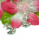 925 STERLING SILVER ANCHOR WITH ROPE CHARM PENDANT