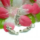 925 STERLING SILVER SEAHORSE CHARM / PENDANT #21