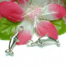 925 STERLING SILVER DOLPHIN CHARM / PENDANT #12