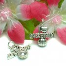 925 STERLING SILVER I LOVE BASKETBALL CHARM PENDANT