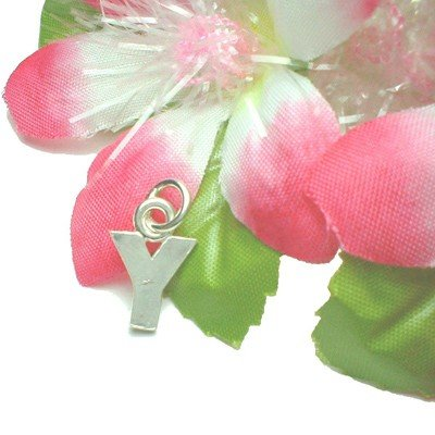 """925 STERLING SILVER INITIAL """"Y"""" LETTER CHARM / PENDANT"""