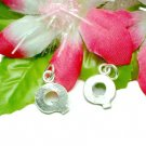 """925 STERLING SILVER INITIAL """"Q"""" LETTER CHARM / PENDANT"""