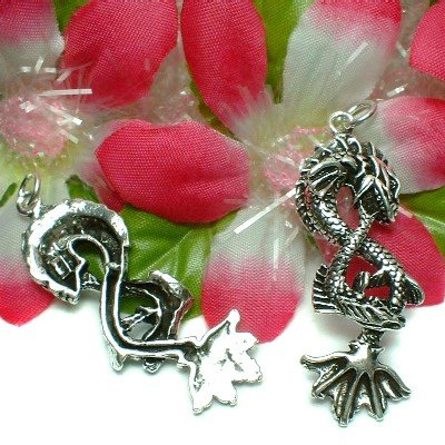 925 STERLING SILVER SEA MONSTER PENDANT