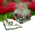 925 STERLING SILVER HALLOWEEN BAT CHARM / PENDANT #30