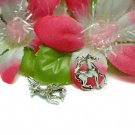 925 STERLING SILVER PONY HORSE CHARM / PENDANT #98