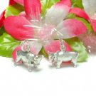 925 STERLING SILVER BULL COW CHARM / PENDANT #3