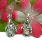 925 STERLING SILVER SANTA CLAUS (MOVES) CHARM / PENDANT