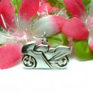 925 STERLING SILVER MOTORCYCLE CHARM / PENDANT