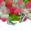 925 STERLING SILVER GOLF PLAYER CHARM / PENDANT