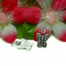 925 STERLING SILVER BUTTERFLY CHARM / PENDANT #26