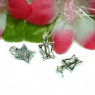 925 STERLING SILVER BUTTERFLY CHARM / PENDANT #18