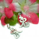 STERLING SILVER CHINESE SYMBOL CHARM / PENDANT - RABBIT