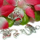 925 STERLING SILVER GOLDFISH CHARM / PENDANT #23