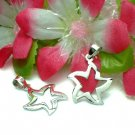 925 STERLING SILVER STAR CHARM / PENDANT #19