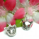 925 STERLING SILVER KITTY CAT CHARM / PENDANT #3