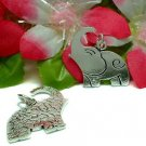 925 STERLING SILVER ELEPHANT CHARM / PENDANT #31