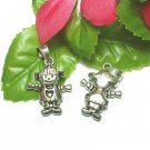 925 STERLING SILVER LITTLE GIRL (MOVABLE) CHARM PENDANT