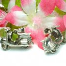 STERLING SILVER VESPA SCOOTER (MOVABLE) CHARM PENDANT