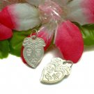 925 STERLING SILVER PROSPERITY PEACH & GOOD LUCK CHARM