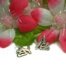 """925 STERLING SILVER INITIAL """"YES"""" LETTER CHARM PENDANT"""