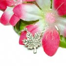 925 STERLING SILVER MAPLE LEAF CHARM / PENDANT #142