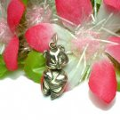 925 STERLING SILVER CHIPMUNK (MOVES) CHARM / PENDANT