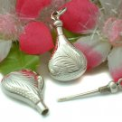 925 STERLING SILVER PERFUME BOTTLE CHARM / PENDANT #8