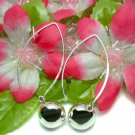 925 STERLING SILVER BALL HOOK EARRINGS