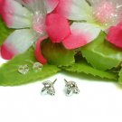 925 STERLING SILVER MOUNTAIN GOAT STUD EARRINGS #746