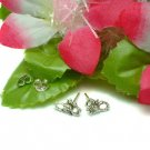 925 STERLING SILVER SCORPION STUD EARRINGS #105